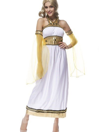 Exotic Princess With Elegant Yellow Lace Net Hot Cosplay Costumes