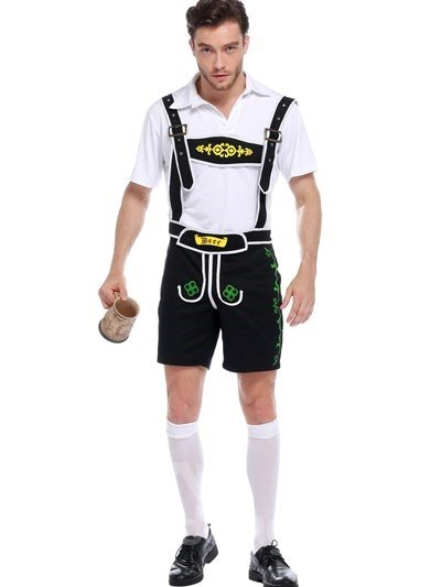 Handsome And Cool Beer Boy Modeling Cosplay Costumes