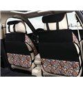 Cute Calf Pattern With Floral Design Popular Universal Car Seat Cover