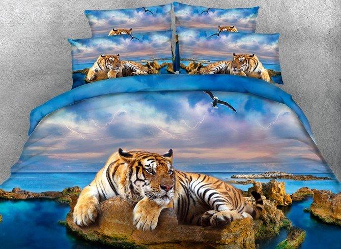 Beddinginn Tiger Print Sets Tiger