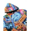 Unique Long Sleeve Magic Cards Pattern 3D Painted Hoodie