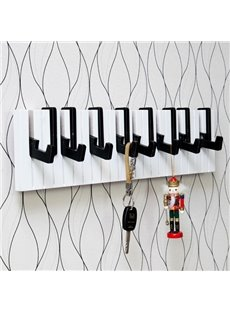 Fancy Creative Piano Shape Home Decorative Wall Hooks