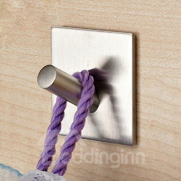 Stainless Steel Home Decorative Simple Style Wall Hooks
