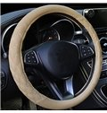 Popular Leatherette Material Grid Design Hot Universal Car Steering Wheel Cover
