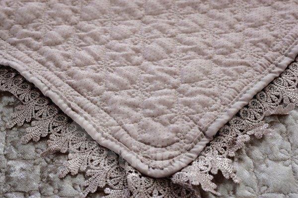 Grey Warm Plush Thicken Pleuche Design Slip Resistant Sofa Covers