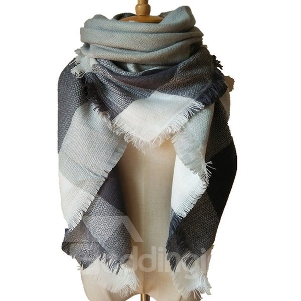 New Autumn Winter Women Large National Cashmere Anti-Wind Warm Square Scarve