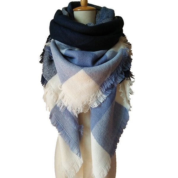 New Stylish Lady Long Soft Cashmere Scarf Popular Square Scarves