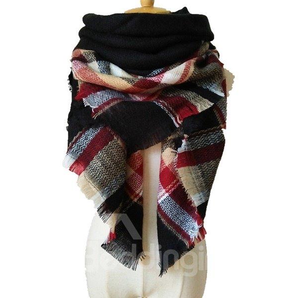 Special Hit Color Design Charming Warm Cashmere Long Scarves