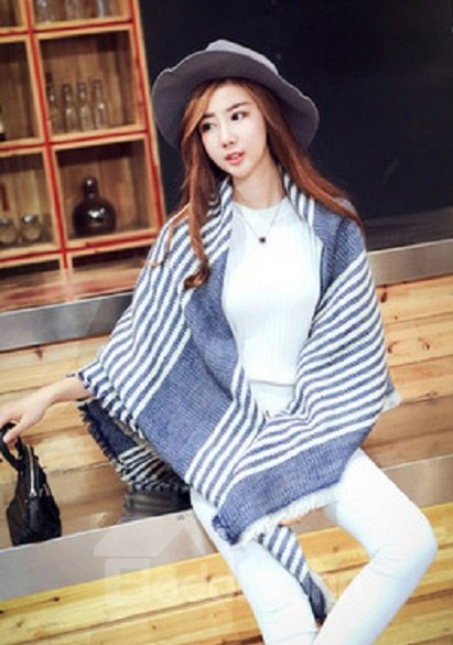 Multifunction Use Special Fashion Design Warm Cashmere Wrap Shawls Long Scarves