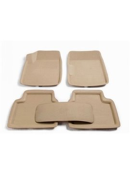 All Weather Dimensional Design Simple Style High Quality Rubber Car Floor Mats