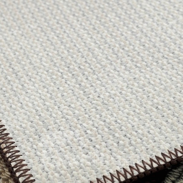 Wonderful Polypropylene Fiber Rectangle Irregular Pattern Slip Resistant Doormat