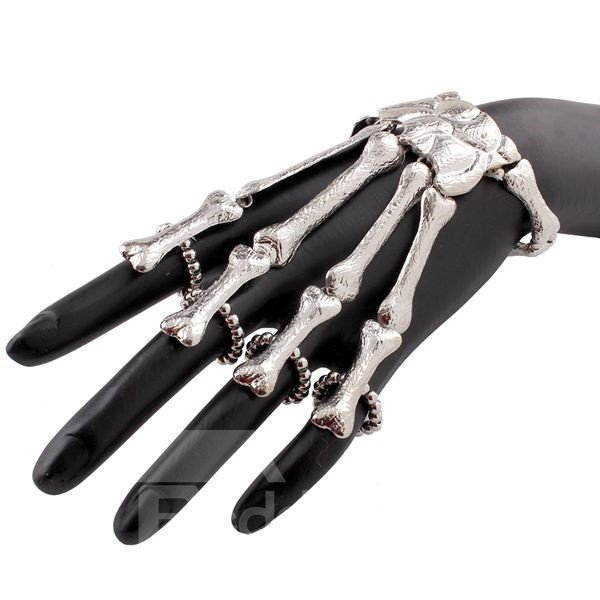 Halloween Style Unique Skeleton Design Bracelet
