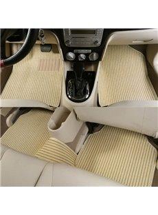 Good Permeability Waterproof Wear-Resistant Flax Material Universal Car Carpet