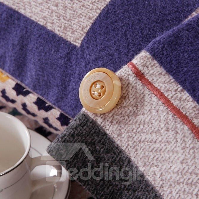 Epic Design Neutral Style 4-Piece Cotton Duvet Cover Sets