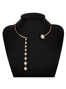 Special Pendant Pears Design Alloy Necklace