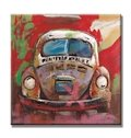 Classic Decorative Car Pattern Canvas Stretched None Framed Oil Painting