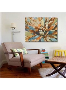 Handmade Flower Petal Pattern None Framed Decorative Oil Painting