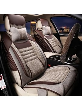 Classic Mash Up Three-Dimensional Visual Effect Good Permeability Universal Car Seat Cover