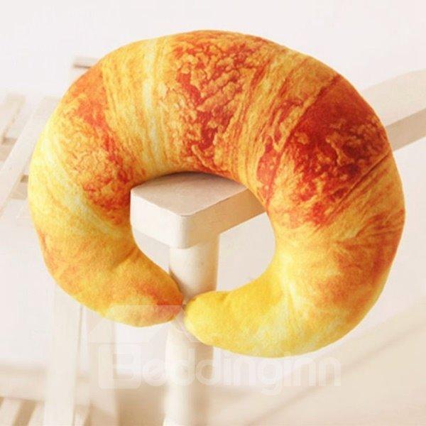 Super Soft Vivid Croissant Design U-shaped Pillow