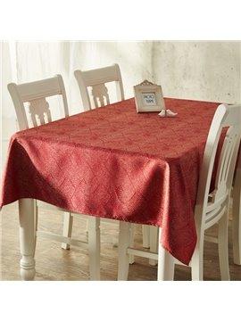 Superior Luxury Rectangle Cotton Machine Washable Decorative Tablecloth