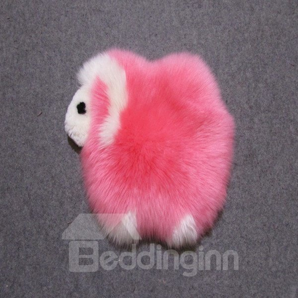 Very Cute Colorful Sheep Shape Design Woollen Decorative Warm Area Rug
