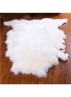 Handmade Warm and Soft 1 Piece Home Decorative Woollen Area Rug