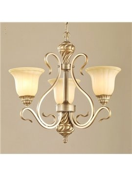 Elegant Iron European Style for Living Room Decoration Pendant Light