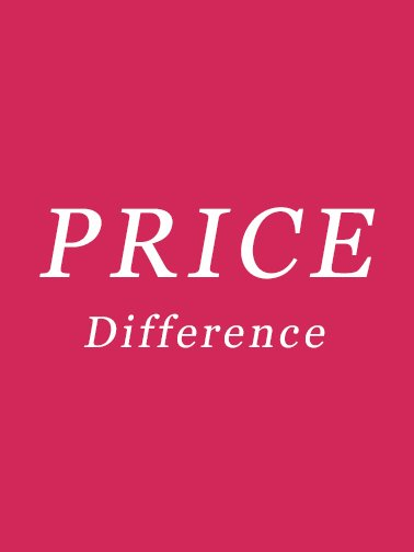 Price Difference