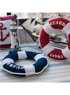 Chic Design Swim Ring Round Throw Pillow