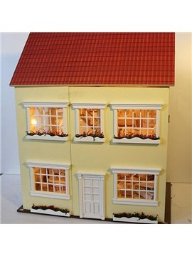 Warmly Deluxe Miniature DIY Dollhouse Birthday Valentine Gift