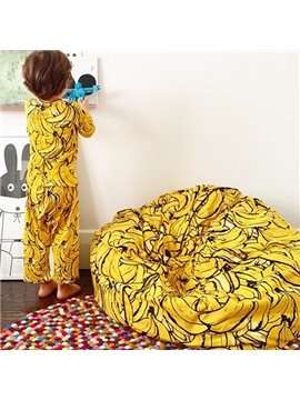 Great Gift Lovely Banana Pattern Bean Bag Chair