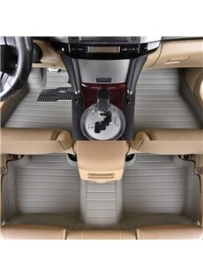 Simple Luxury With High-Grade PVC Leather Material Custom-Made Car Carpet