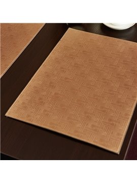 Practical High Grade Polyurethane Stain Resistant Home Decorative Table Placemat