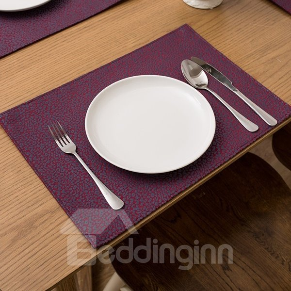 69 Heat Resistant Fabric Pure Color Non Slip Insulation Washable Table  Placemat