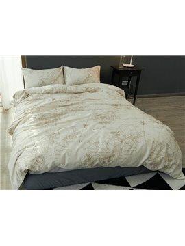 Unique Nautical Theme Design 4-Piece Cotton Duvet Cover Sets