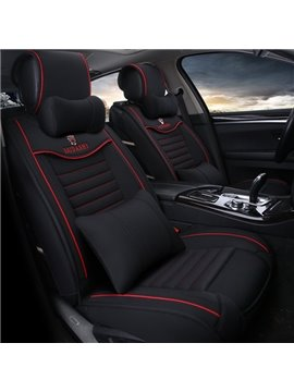 New Contrast Color 3D High Grade Luxury Universal Car Seat Cover