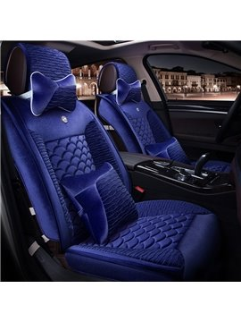 New Fish Scales Decorate With Unique Design Comfortable Material Universal Car Seat Cover