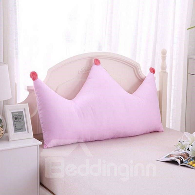 Creative Crown Shape Decoration Bedding Throw Pillow