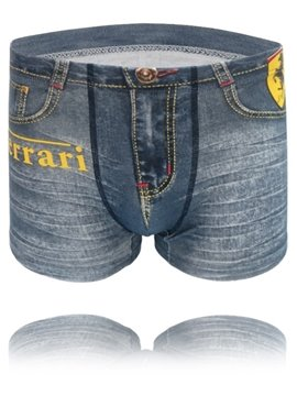 Distress Crafts Fashion Old 3D Jeans Style Design Cost-Effective Creative Man Briefs