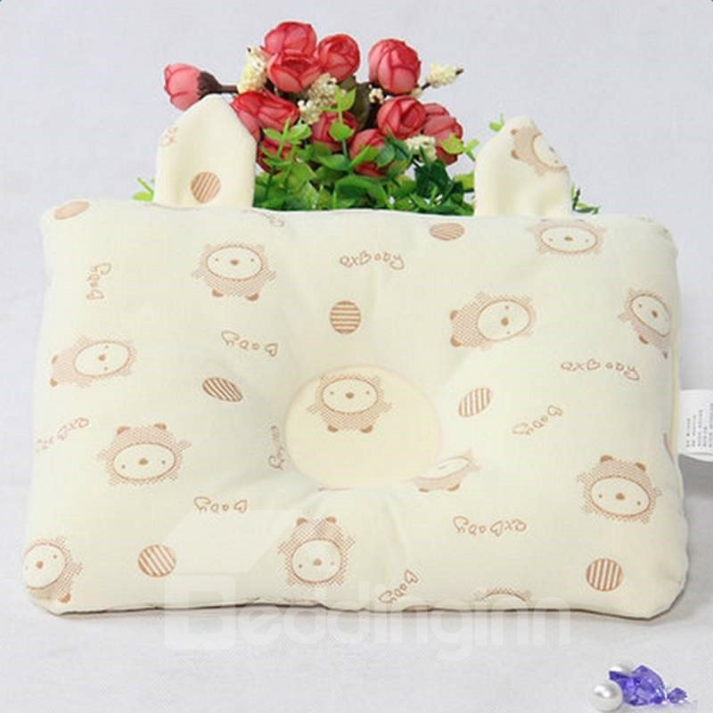 Softy Simple Design Three Colors Option Prevent Flat Head Baby Pillow