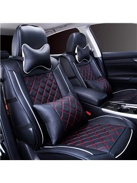 Cool Fashion Design Durable PVC Leather Material Universal Car Seat Cover