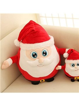 Christmas Style Creative Santa Claus Design Back Curshion