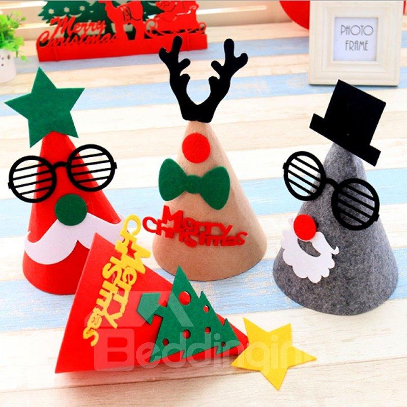 Creative Christmas Tree Design 3D Christmas Card