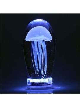 Fabulous Creative Jellyfish Shape Home Decorative Handmade LED Light