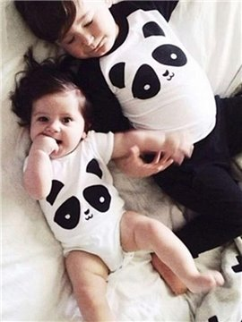 Super Cute Panda Design 100% Cotton Baby and Kids Pajama