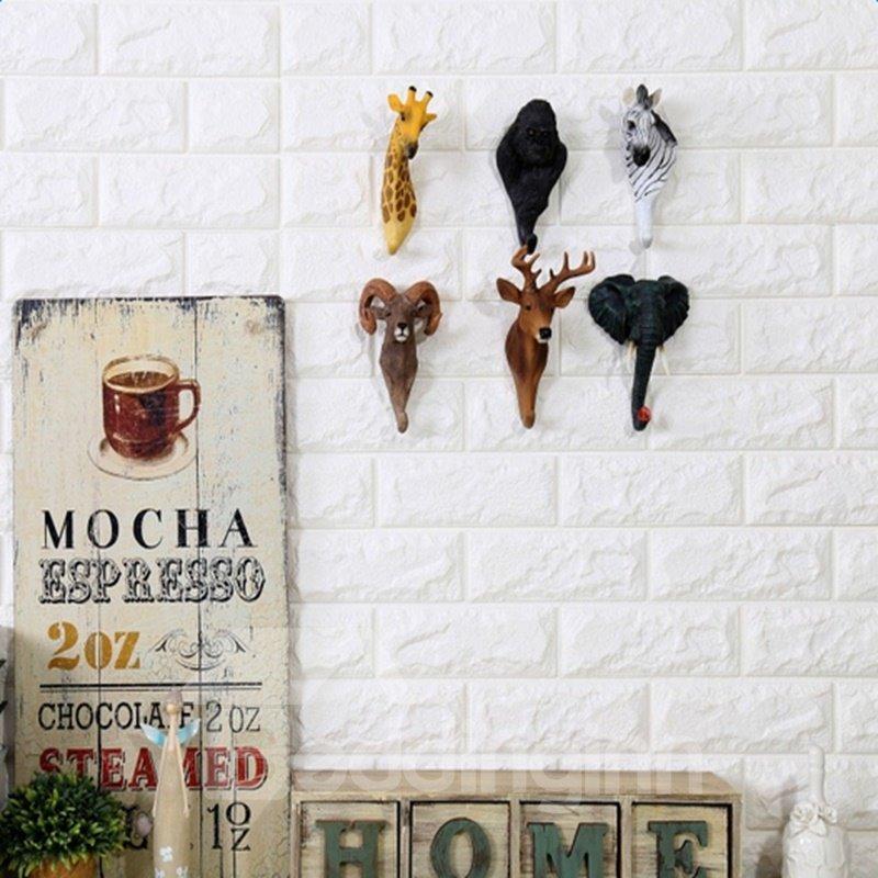 Realistic Modern Design Elephant Shape Home Decorative Wall Hooks