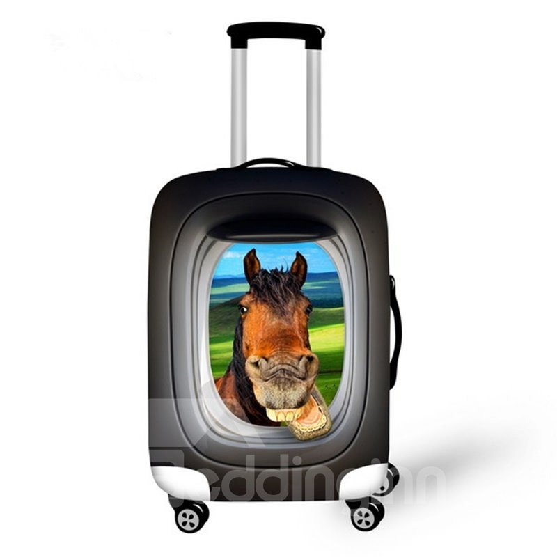 Fashion Animals Pattern 3D Painted Luggage Cover