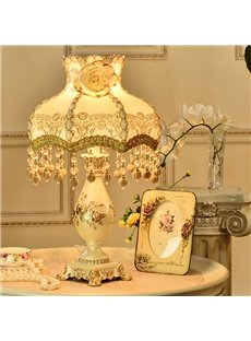 Elegant Resin European Style Princess Style Decorative Table Lamp
