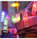Modern Creative Photo Clip Design 6.6 Feet Battery Home Decorative LED Lights