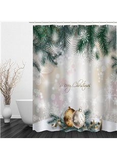 Dreamy Christmas Theme Bathroom 3D Shower Curtain